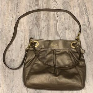 Coach over the shoulder/crossbody bag- used!